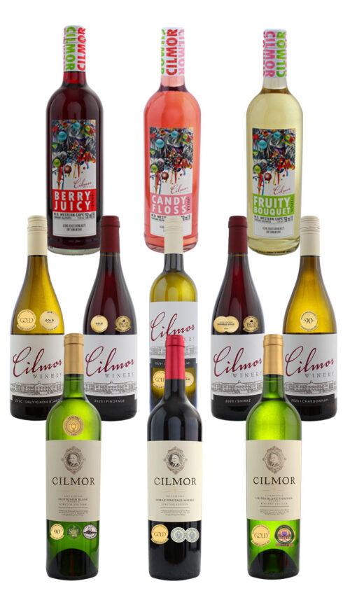 Cilmor mixed case wine
